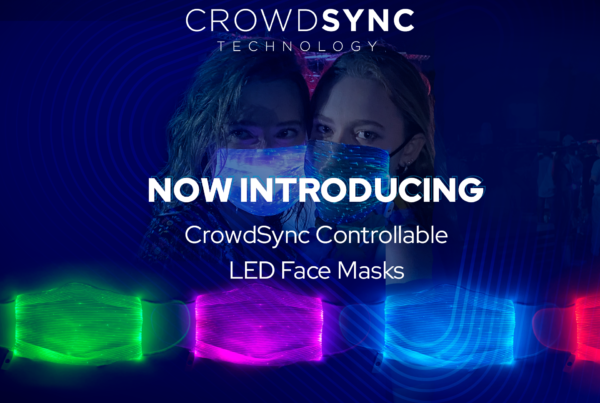 Controllable Light Up LED Face Masks for Concerts/Events